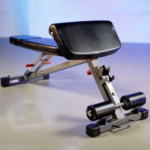 XMark Fitness Adjustable Ab Hyperextension and Preacher Curl Bench XM-7631