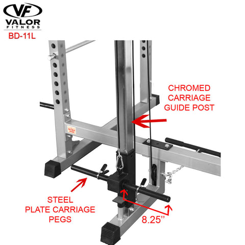 Image of Valor Fitness Lat Pull Attachment BD-11L