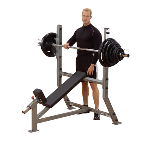 Image of Body-Solid ProClub SIB359 Olympic Incline Bench Press Hero