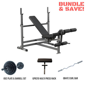 Body-Solid PowerCenter GDIB46L Home Gym Package