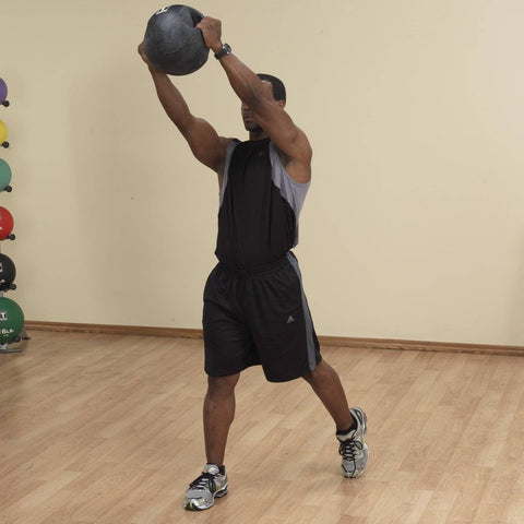 Body-Solid Tools Dual Grip Medicine Ball BSTDMB