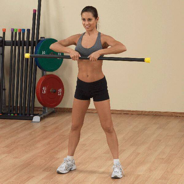 Body-Solid Tools Fitness Bar BSTFB
