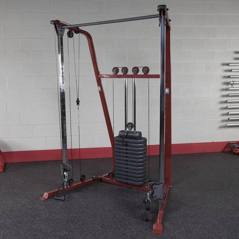 Best Fitness BFFT10R Functional Trainer Front Side View