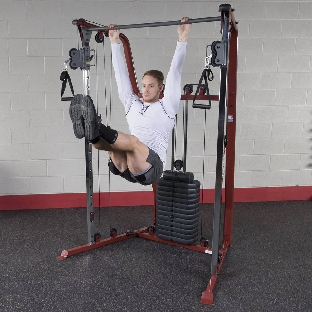 Best Fitness BFFT10R Functional Trainer Pull Up