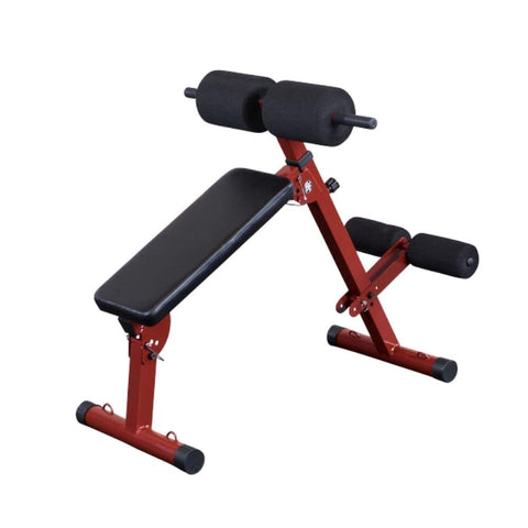 Best Fitness BFHYP10 Ab Hyperextension Bench 3D View