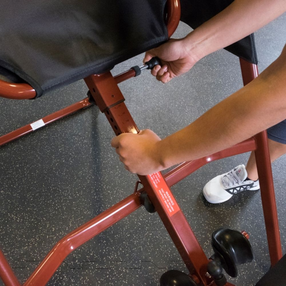 Best Fitness BFINVER10 Inversion Table Close Up View