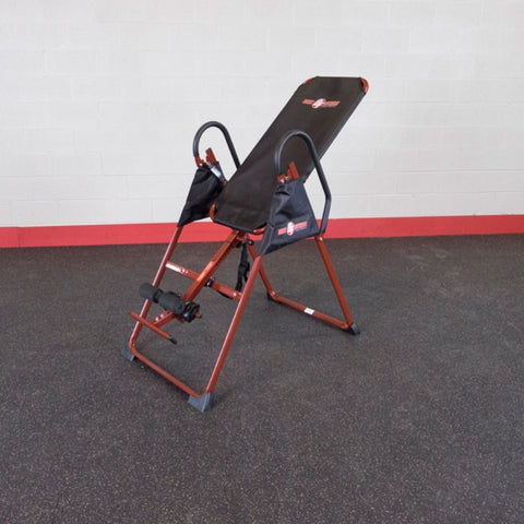 Best Fitness BFINVER10 Inversion Table Front Side View