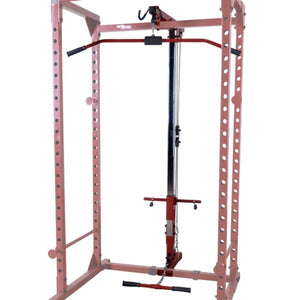 Best Fitness BFLA100 Lat Pull Low Row Attachment 3D View Close Up