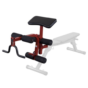 Best Fitness BFPL10 Leg Developer and Preacher Curl Attachment 3D View