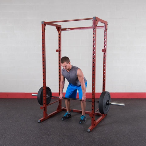 Image of Best Fitness BFPR100 Power Rack Dead Lift