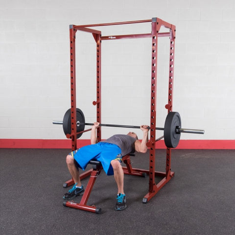 Image of Best Fitness BFPR100 Power Rack Flat Chest Press