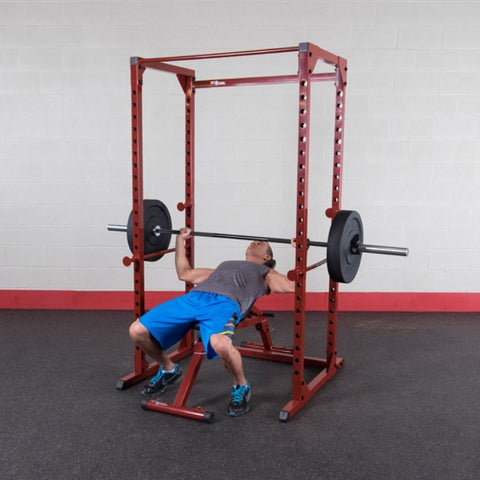 Image of Best Fitness BFPR100 Power Rack Incline Chest Press
