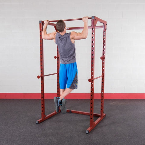 Image of Best Fitness BFPR100 Power Rack Pull Up