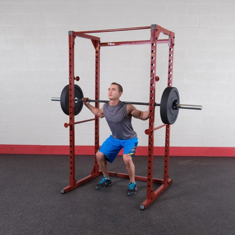 Image of Best Fitness BFPR100 Power Rack Squat