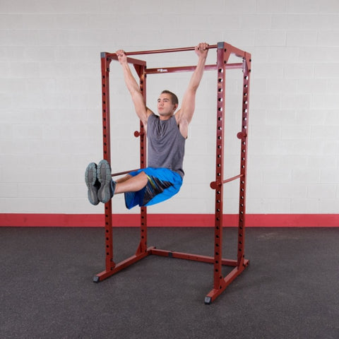 Image of Best Fitness BFPR100 Power Rack Straight Leg Lift