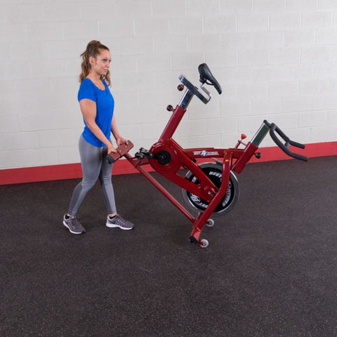 Best Fitness BFSB5 Spin Bike Moving