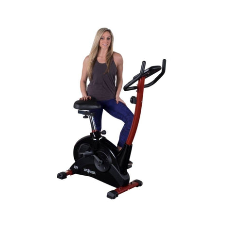 Best Fitness BFUB1 Upright Bike 3D View Pose