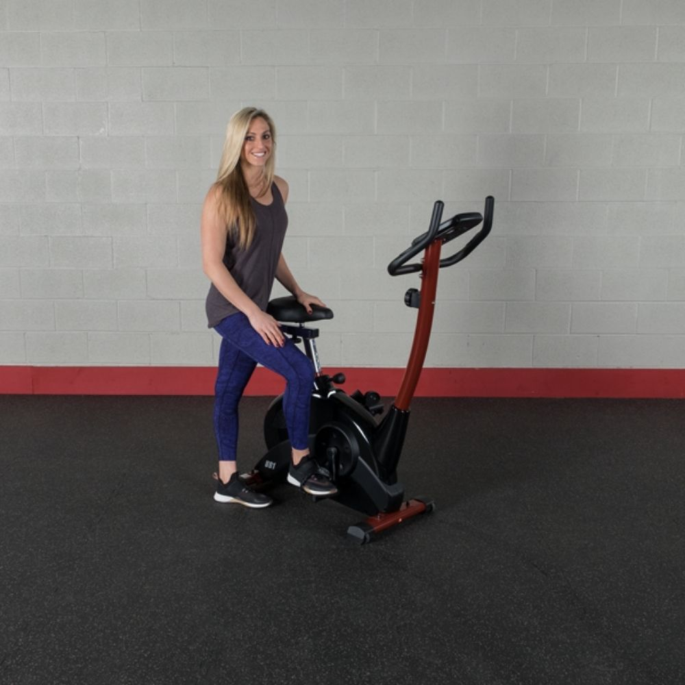 Best Fitness BFUB1 Upright Bike 3D View Standing