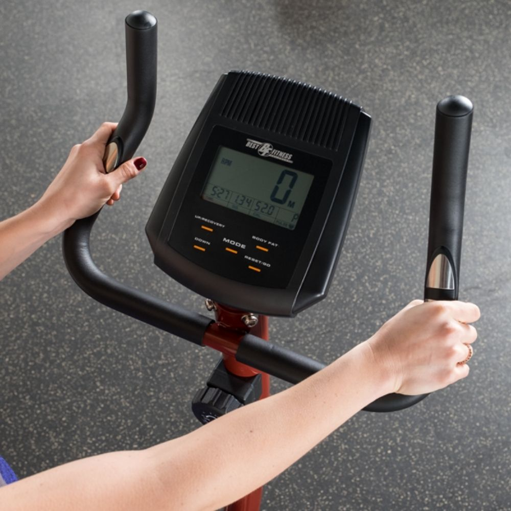 Best Fitness BFUB1 Upright Bike Display