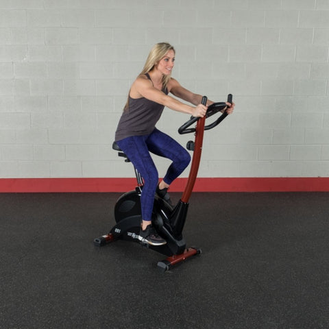 Best Fitness BFUB1 Upright Bike Sitting