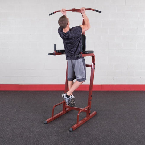 Best Fitness BFVK10 Vertical Knee Raise Dip Pull Up Station Chin Up