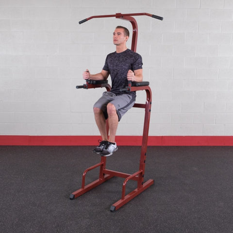 Best Fitness BFVK10 Vertical Knee Raise Dip Pull Up Station Knee Raise
