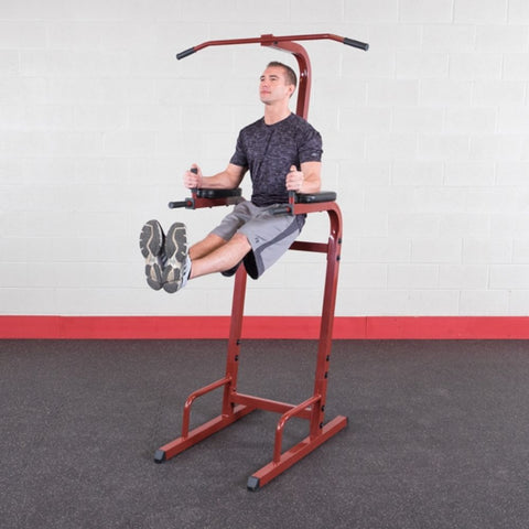 Best Fitness BFVK10 Vertical Knee Raise Dip Pull Up Station Leg Raise