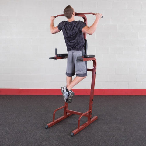 Best Fitness BFVK10 Vertical Knee Raise Dip Pull Up Station Pull Up