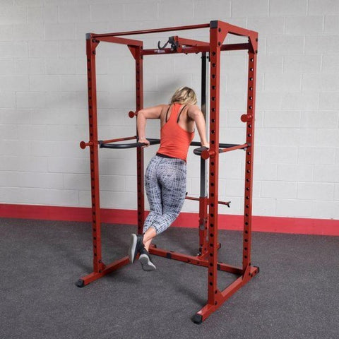 Image of Body-Solid DR100 Power Rack Dip Attachment BFPR100 Dips
