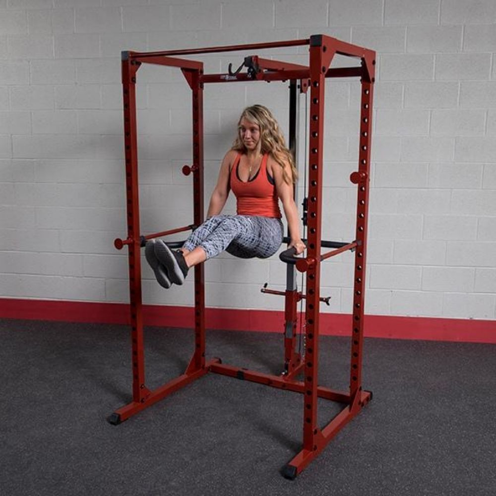 Body-Solid DR100 Power Rack Dip Attachment BFPR100 Leg Extension