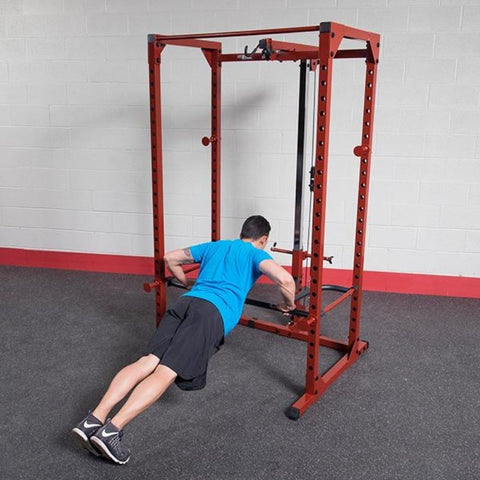 Image of Body-Solid DR100 Power Rack Dip Attachment BFPR100 Push Ups
