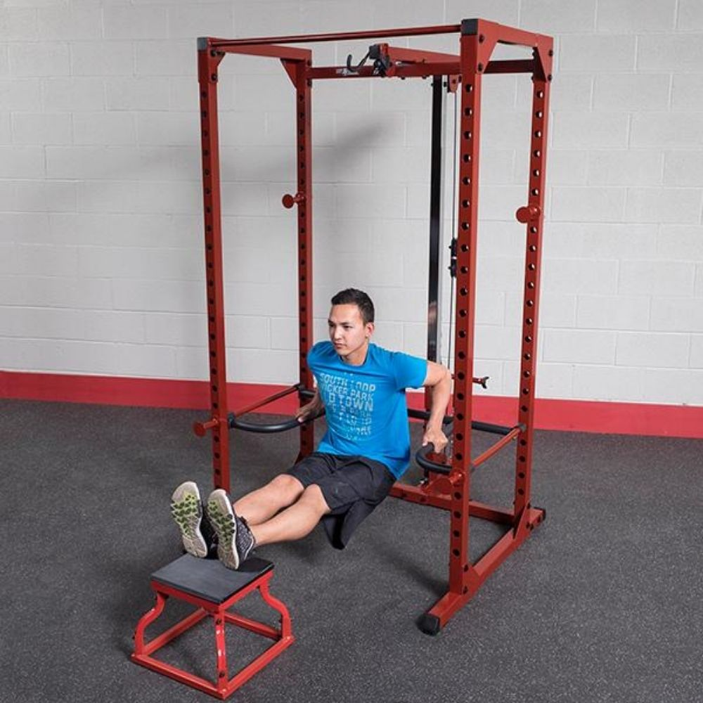 Body-Solid DR100 Power Rack Dip Attachment BFPR100 Reverse Dips