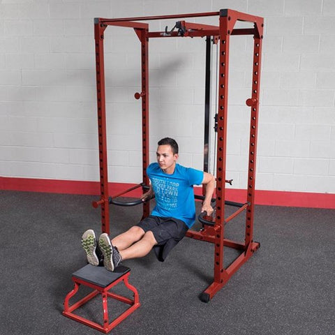 Image of Body-Solid DR100 Power Rack Dip Attachment BFPR100 Reverse Dips