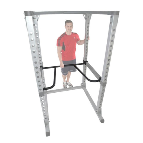 Image of Body-Solid DR378 Dip Bar Attachment for GPR378 Power Rack 3D View