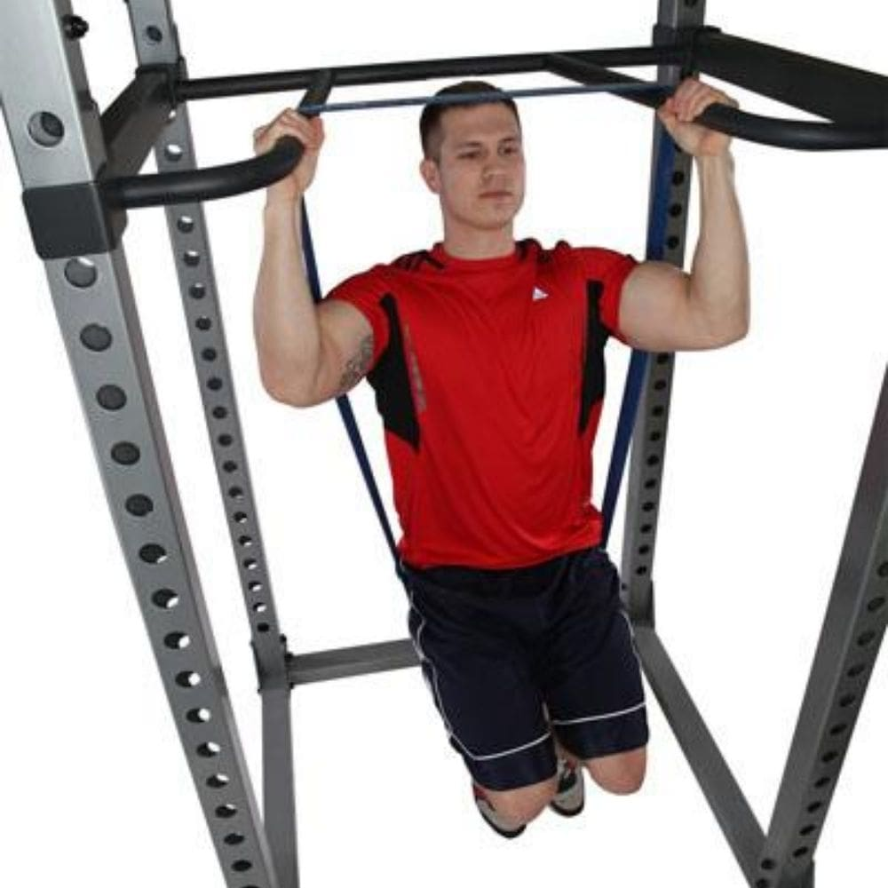 Body-Solid DR378 Dip Bar Attachment for GPR378 Power Rack Assisted Chin Up