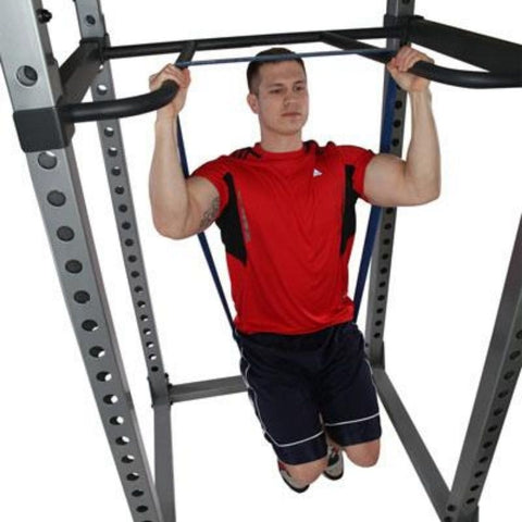 Image of Body-Solid DR378 Dip Bar Attachment for GPR378 Power Rack Assisted Chin Up
