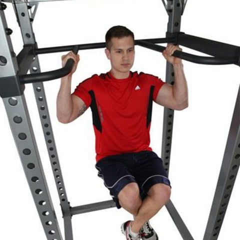 Image of Body-Solid DR378 Dip Bar Attachment for GPR378 Power Rack Chin Up