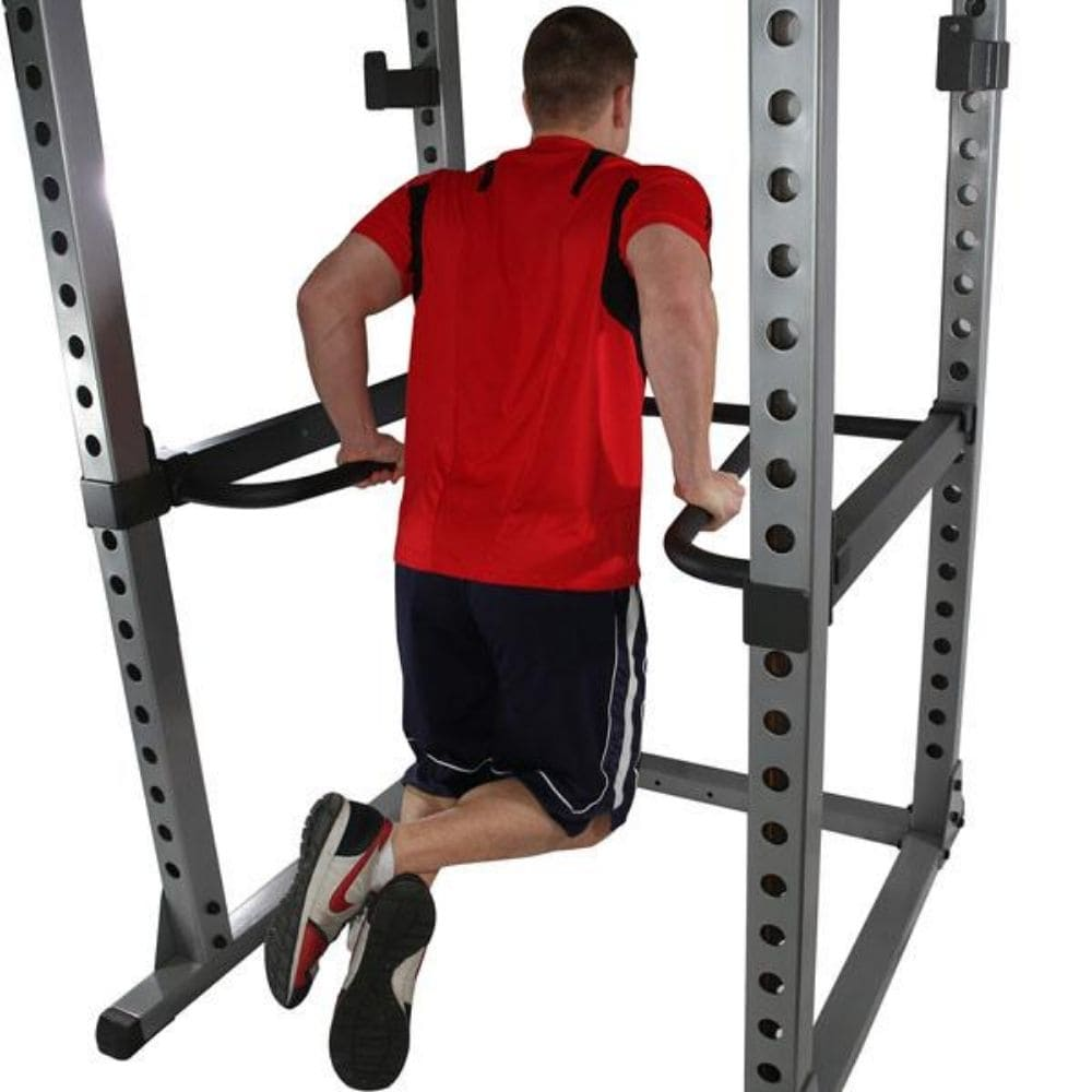 Body-Solid DR378 Dip Bar Attachment for GPR378 Power Rack Dip