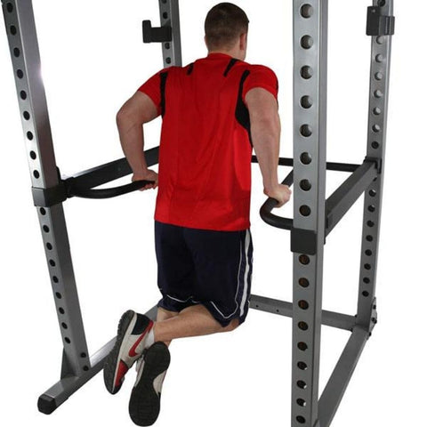 Image of Body-Solid DR378 Dip Bar Attachment for GPR378 Power Rack Dip