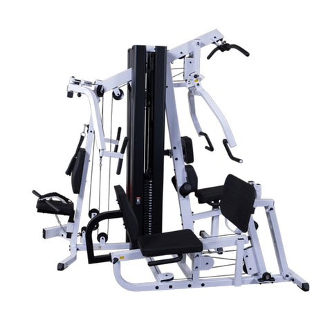 Image of Body-Solid EXM3000LPS Selectorized Multi-Stack Home Gym 3D View