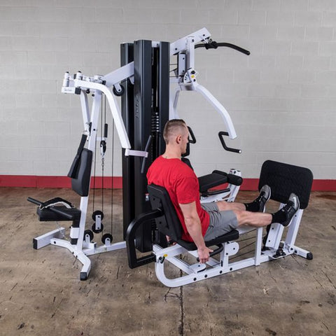 Image of Body-Solid EXM3000LPS Selectorized Multi-Stack Home Gym Calf Press