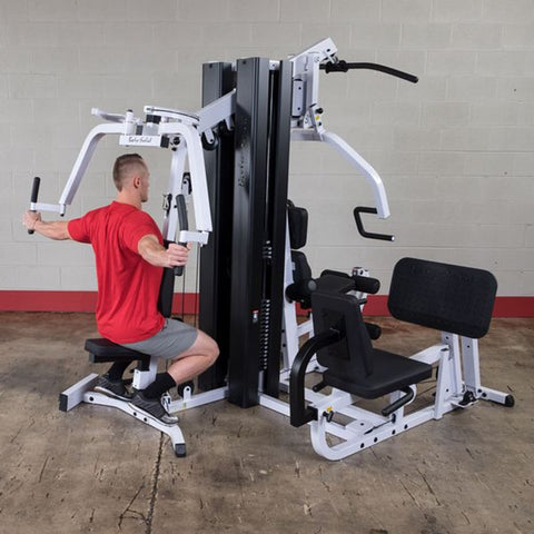Image of Body-Solid EXM3000LPS Selectorized Multi-Stack Home Gym Rear Delt
