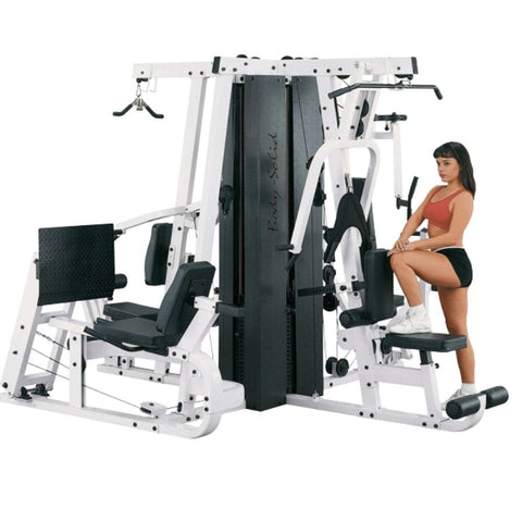 Body-Solid EXM4000S Selectorized Home Gym System 3D View Standing