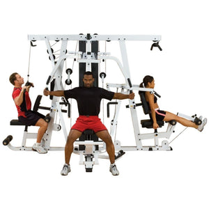 Body-Solid EXM4000S Selectorized Home Gym System Front View