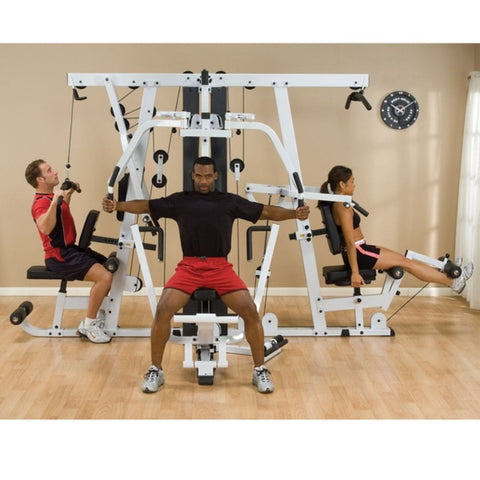 Body-Solid EXM4000S Selectorized Home Gym System Pec Fly