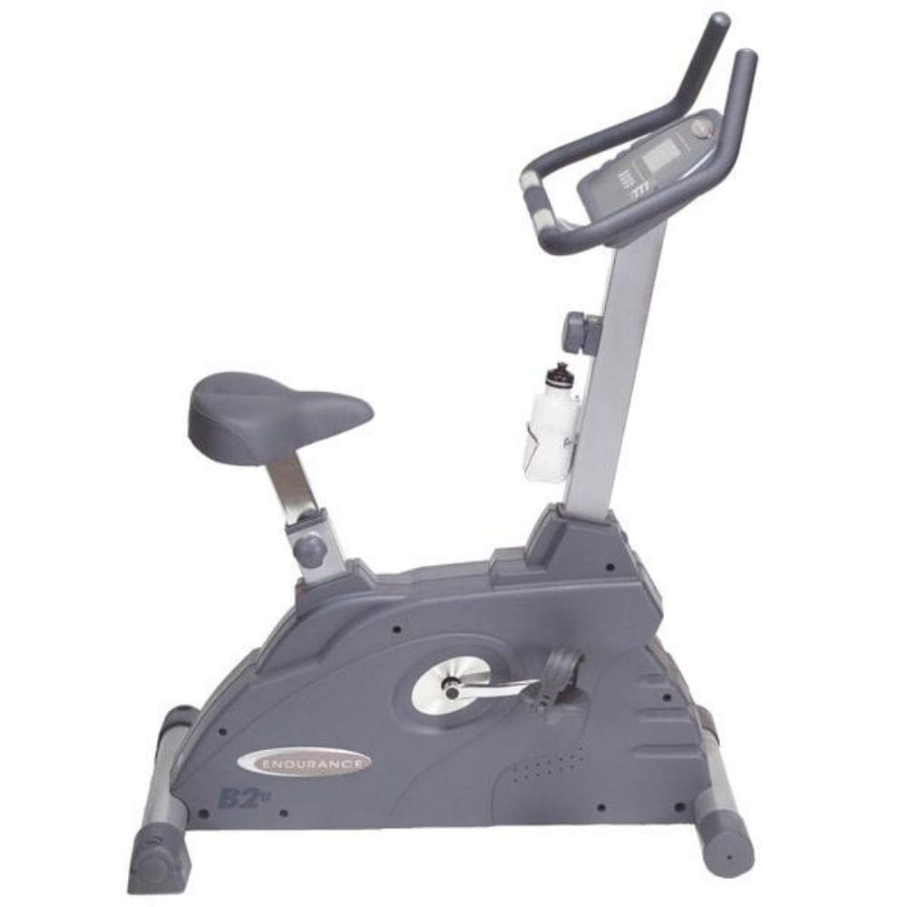 Body-Solid Endurance B2U Upright Stationary Exercise Bike Side View