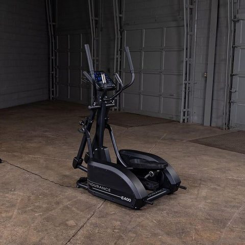 Body-Solid Endurance E400 Center Drive Elliptical Back Side view