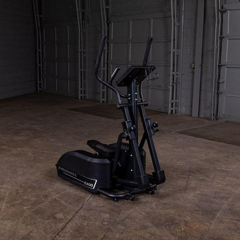 Body-Solid Endurance E400 Center Drive Elliptical Front Side View