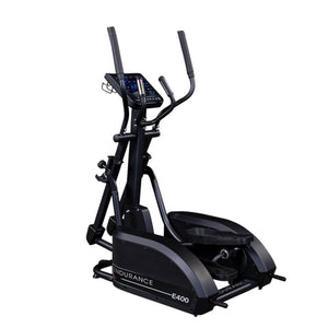 Body-Solid Endurance E400 Center Drive Elliptical Top Back Side View