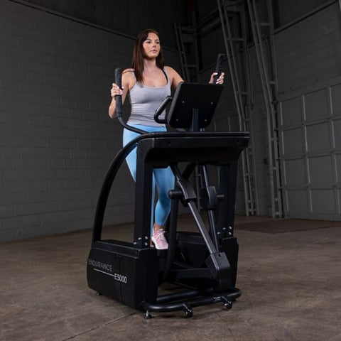 Body-Solid Endurance E5000 Center Drive Elliptical Moving